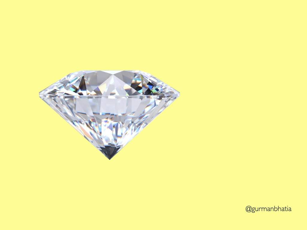 Picture of an actual diamond